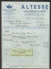 """CALAIS (62) LINGERIE DAME & ENFANT """"Ets. ALTESSE"""" en 1937"""