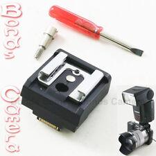 Universal Flash Hot Shoe Adaptateur pour Sony NEX E Caméra NEX-5 3 5N C3 F3 5R NEX5