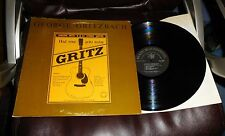 GEORGE GRITZBACH Had Your Grits Today 6 & 12 String Guitar EX Kicking Mule Blues