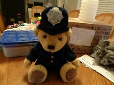 Harrods London Exclusive Plush Police Bear Royal Blue Jacket 12""