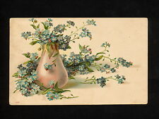 (RUCO 089) RUSSIA 1902 Saint Petersburg City Post pictorial card Flowers