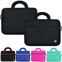 "Universal 8.9"" - 10.1"" Slim Soft Neoprene Handle Carry Sleeve Tablet Case Cover"