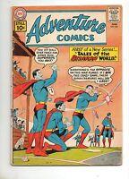 Adventure Comics #285 1ST TALES of the BIZARRO WORLD! VG- 3.5 1961 Superboy