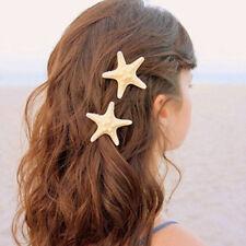 1PC Women  Starfish Sea Star Beach Hairpin Hair Clip Accessories Gift