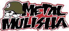 Metal Mulisha bogo army skull skateboard metal decal sticker 2 for 1