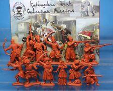Inzhener Basevich Plastic Toy Soldier Caucasian Muslim Warriors № 22 1/32 54 mm