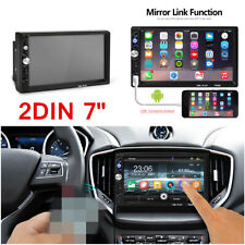 "Car 2 DIN 7"" Inch HD 1080P MP5 FM Player Touch Screen Stereo Radio Head Unit"
