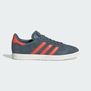 ADIDAS GAZELLE HAMBURG MENS SHOES GRAY SUEDE LEATHER JEANS CITY BERN EF5565 NEW