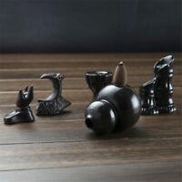 1pc mini porcelana backflow cerámica Censer cono quemadores de incienso