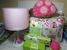 13 pc Circo Ladybugs Full Bedding Set Comforter, Shams, Lamp, Valance, Sheet Set