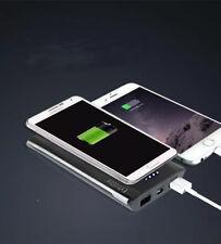 POWER BANK CON RICARICA WIRELESS 6000 QI per Samsung GALAXY S6 S6 EDGE+ S7 S8