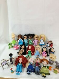 "Disney Animator Mini 5"" Dolls set x 15"