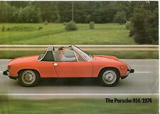 PORSCHE 914/1974 BROCHURE.