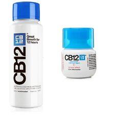 CB12 Mundwasser/Spülung Original Minze/Menthol 250ml+frei 50ml Flasche