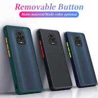 For Xiaomi Redmi 9 Note 9S 8T 8 Pro Shockproof Matte Bumper Acrylic Case Cover