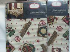 """Christmas Tablecloth 60"""" x 84"""""""
