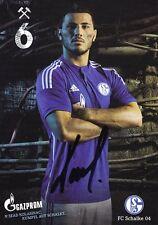 Sead Kolasinac + FC Schalke 04 + Saison 2014/2015 + Original Autogrammkarte