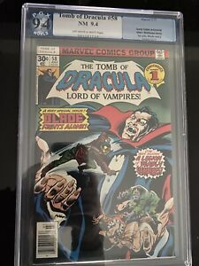 Tomb Of Dracula #58 - Blade SOLO Issue - PGX 9.4