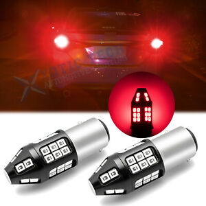 LED 1157 Strobe Flashing Blinking Blinker Brake Tail Light Bulb Safety Warning