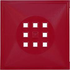 4erSet Tür Einsatz Ikea Regal Expedit Kallax Flexi Würfel mit Cubus Bordeaux Rot