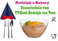 Dessertschale Schüssel Rudolph's Bakery Nachtischschale Eisschale Konfektschale