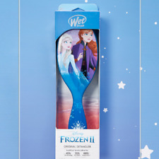 NEW! THE WET BRUSH DISNEY EDITION FROZEN 2 ELSA AND ANNA ORIGINAL HAIR DETANGLER