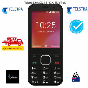 Telstra Lite 2 Z2315 (4GX, Blue Tick, Keypad, Wi-Fi Hotspot  Black AU STK Cheap