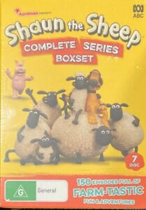 Shaun The Sheep : Complete Series 1-5 (DVD, 2019, 7-DIsc Set) BRAND NEW & SEALED