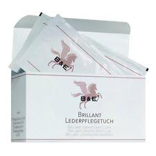 B & E - Brillant lederpflegetuch - Lot de 12 - Entretien cuir LISSE similicuir