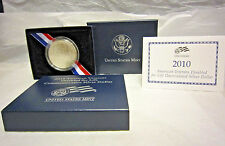 2010 Unc American Veterans Disabled for Life Commemorative Silver Dollar
