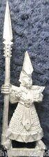 1993 DARK ELF SPEARMEN 3 Citadel Marauder elven army drow Warrior warhammer AD&D