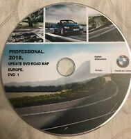 BMW 2019 Professional Navigation Maps Update Sat Nav Disc 1, 3, 5, 6, X5, X6 Ser