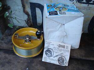 "Vintage Alvey Surf Champion 6"" Fibreglass Spool Fishing Reel made in Australia"
