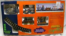Lemax Halloween Spooky Town Train Complete plus Extra Decor Pumpkins Graves