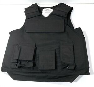 NEW POINT BLANK R20D OUTER CARRIER TACTICAL BODY ARMOR VEST LEVEL II   XXL  LONG