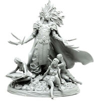 █ 54mm Resin Kingdom Death Lion knight Unpainted Unassembled WH284