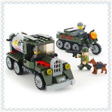 ENLIGHTEN 223Pcs Military Transport Vehicle Building Block 1706 Toys For Kids