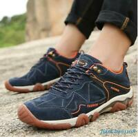 Men's Shoes Sneakers Sports Climbing Athletic Running Outdoor Hiking Lace Up Hot