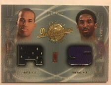 2001-02 Inspirations KOBE BRYANT RICHARD JEFFERSON Dual Jersey Rare SP #/275