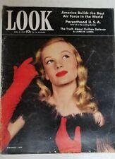 Rare LOOK Magazine June 2, 1942 WWII Years Veronica Lake VINTAGE