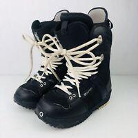 Burton women's FREESTYLE snowboard boots size us 6.5 Black White