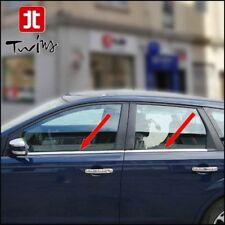 Strisce Cromate Finestrini Ford Focus II 2005-2011 5p e SW raschiavetri Cromati
