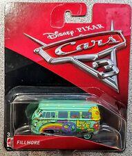 Mattel Disney Pixar Cars 3 Fillmore Volkswagen Van Open Box Brand New