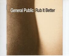 CD GENERAL PUBLIC rub it better EX-  (B1640)