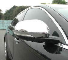 NUOVO Chrome Door Specchietto Laterale Coprire Taglia per JAGUAR XJ XJR X351 2009 sulla LUSSO