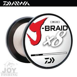 Daiwa J-Braid x8 Bulk Spool Fishing Line [JB8U150-500WH] 150lbs 550yards