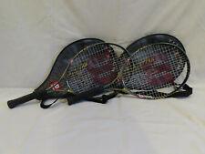 2 Wilson Titanium Rak Attak 25 Tennis Racquets