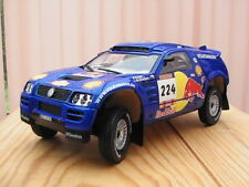 VOLKSWAGEN touareg Red Bull Saby/Stevenson 1:18 Burago Trophy Collection