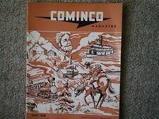 vintage cominco mine magazine 1958 rare collector