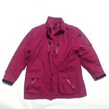 Womens Lands' End Squall Winter Coat Magenta Pink Primaloft Women's Size Medium